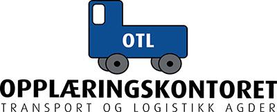Opplæringskontoret transport og logistikk Agder Logo